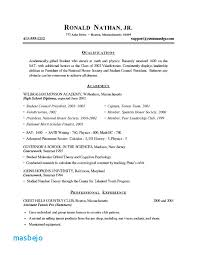 Printable Resume Examples College Job Resume Resume College Student