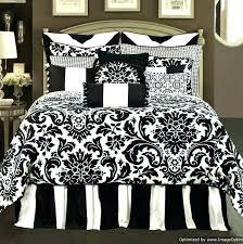 glamorous white full bedding sets black bedding sets full fancy black and white full comforter sets