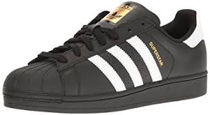 adidas shoes superstar black. adidas superstar foundation black white mens trainers - b27140 size 8.5 uk shoes c