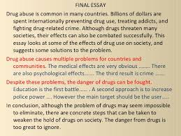 essay drugs drug and drug abuse essay com architect msf resume rup  write an essay about drug addiction org my favourite toy barbie doll essay