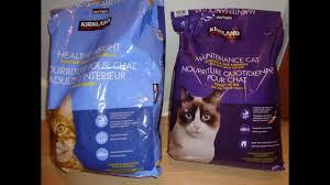 Kirkland Brand Cat Food Healthy Weight Vs Maintenance Cat Regular