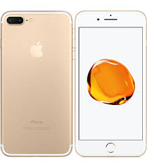 iphone 7 gold front. apple iphone 7 plus front \u0026 back view - gold iphone o