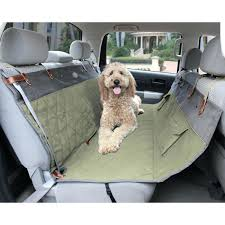 car seats seat covers for pets in cars premium quilted pet hammock cover bench green