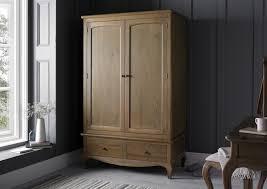 Weathered Oak Furniture Loire Weathered Oak Wardrobe Dressing Tables Furniture
