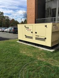 Install Generator at Eastern Middle School by in Takoma Park MD