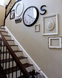 stairwell decorating stair wall decor