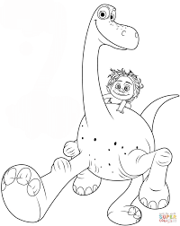 Small Picture The Good Dinosaur Coloring Pages Coloring Coloring Pages
