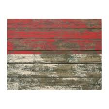 indonesian flag on rough wood boards effect wood wall decor on indonesian wooden wall art with indonesian wood wall art zazzle
