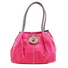 <b>Fuchsia</b> Craze London <b>Women</b> Designer Made Faux Leather Large ...