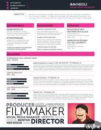 15 Videographer Resume Sample What S A Career Pinterest Cv