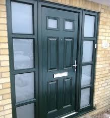 do composite doors fade in the sun