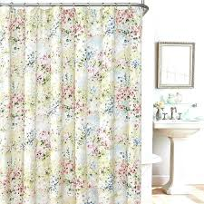 shower curtain tension rods decorative shower curtain tension rods giverny fl plisse fabric shower curtain