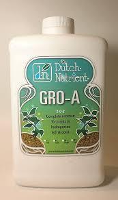 Dutch Nutrients Feeding Chart Dutch Nutrient Bloom A B