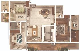 10 X 16 Bedroom Design 3 4 Bhk Luxurious Flats In Lucknow Omaxe Kingston