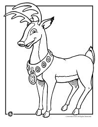 Small Picture Rudolph the Red Nosed Reindeer Coloring Page Woo Jr Kids