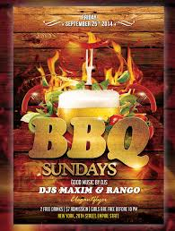 Bbq Poster 25 Bbq Flyer Templates Psd Ai Word Eps Vector Format Free
