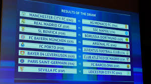 nyon switzerland december 12 a view of the results table following the uefa