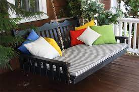 pine royal english swing bed by