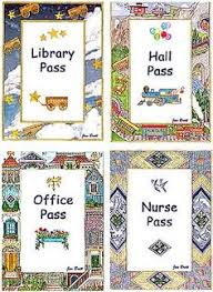 Hall Passes For School 37 Best Hall Pass Images Hall Pass School Hall Classroom