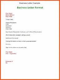 Formal Letter Spacing Essential Photoshot Business Format Template B