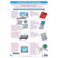Information Technology Chart Information Technology Wall Chart Rapid Online