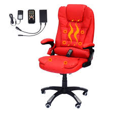chairs homcom executive heated massage office chair red suppliers homcom high back ergonomic pu leather vibrating