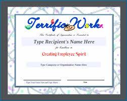 Free Appreciation Certificates Free Printable Employee Appreciation Certificate 233