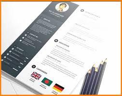 Unique Attractive Resume Templates Free Download Template Ideas 2