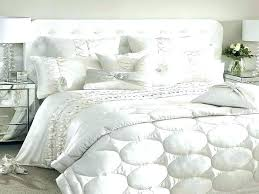 beautiful design white luxury comforter sets fabric and color curtain