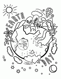 Small Picture Coloring Pages Beautiful Earth Celebration Earth Day Coloring