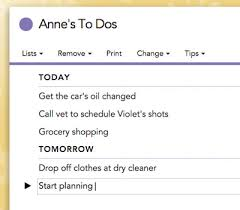List To Do Getting Started With Cozi To Do Lists Cozi Family Organizer
