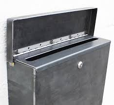 Residential mailboxes side view Classic The Gibson Mailbox Custom Bold Mfg The Gibson Mailbox Custom Bold Mfg Supply