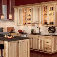 kitchen hickory cabinets ideas inspiration