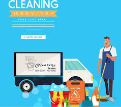 Service Advertisement Cleaning Service Advertisement Male Truck Icons Webpage Style Free