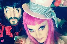 aaron smith henrikson with madonna backse at tears of a clown in melbourne we ask madonna s official makeup artist
