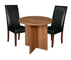 niche mod round table 2 dining chairs the office place 30 topper