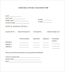 Basketball Evaluation Forms - April.onthemarch.co