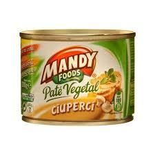 Mandy - Vegetable pate with mushrooms