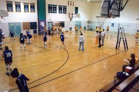 high school gym. Valley View Middle School: Gym AB High School