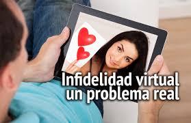 Resultado de imagen para infidelidad en la red