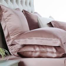dusty rose silk bed linen silk duvet