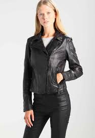 gipsy neni leather jacket dark anthracite for women