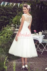Plenty Of Tea Length Wedding Dresses 2017 On Sale Best Tea Length
