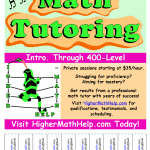 Tutoring Flyer Template Sample 15 Cool Tutoring Flyers 10 Tutoring ...