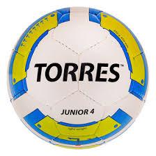 <b>Мяч футбольный Torres Junior-4</b>, F30234, вес 310-330 грамм ...