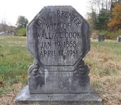 Ida E Carpenter Cook (1868-1951) - Find A Grave Memorial