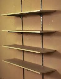 ... Shelves, Benefits Of Wall Mounted Shelves: amazing wall mounted  shelving system ...