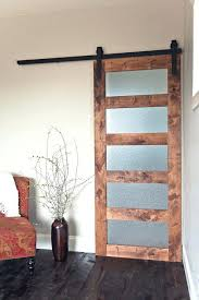 barn door with glass amazing frosted glass barn doors with sliding shower doors on barn door