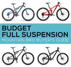 Buyers Guide Budget Full Suspension Mountain Bikes
