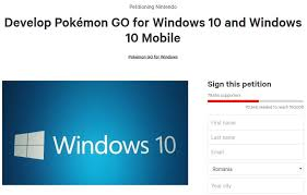 Windows 10 Petition 80 000 Users And Counting Want Pokemon Go On Windows Phone